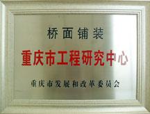 桥面铺装重庆市工程研究中心